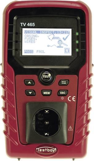 Testboy TV465 VDE-Gerätetester VDE0701-0702, BGV A3, BetrSichV, ÖVE/Norm E 8701/E 8702 Kalibriert nach ISO