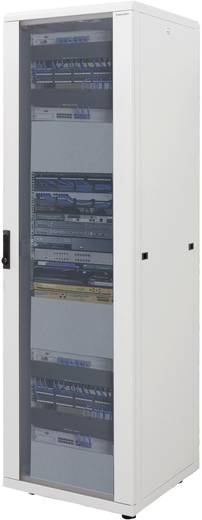 19 Zoll Netzwerkschrank LogiLink D16S68B 800 mm 16 HE Schwarz (RAL 9005)