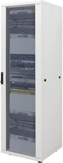 19 Zoll Netzwerkschrank LogiLink D42S81G 1000 mm 42 HE Lichtgrau (RAL 7035)