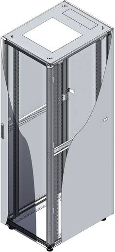 19 Zoll Netzwerkschrank LogiLink D22S81G 1000 mm 22 HE Lichtgrau (RAL 7035)