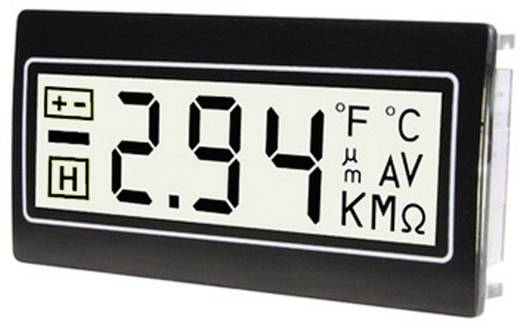 TDE Instruments DPM961-TW Digitalmultimeter für Schalttafeleinbau ± 200 mV Einbaumaße 22.2 x 45 mm