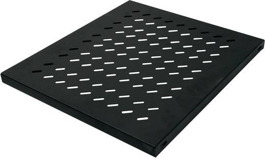 19 Zoll Netzwerkschrank-Geräteboden 1 HE LogiLink SF1F45B Festeinbau Geeignet für Schranktiefe: 600 mm Schwarz