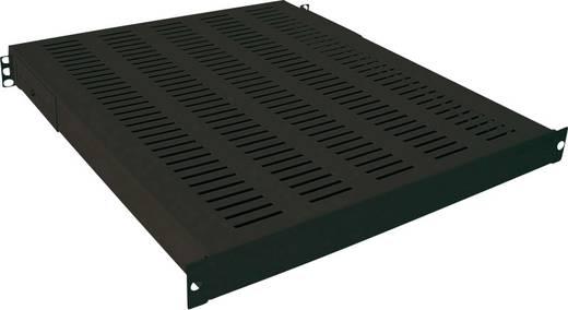 19 Zoll Netzwerkschrank-Geräteboden 1 HE LogiLink SF1H45B Festeinbau Geeignet für Schranktiefe: 600 mm Schwarz