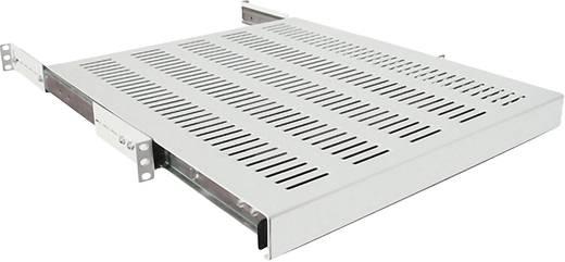 19 Zoll Netzwerkschrank-Geräteboden 1 HE LogiLink SF1S45G Ausziehbar Geeignet für Schranktiefe: 600 mm Grau