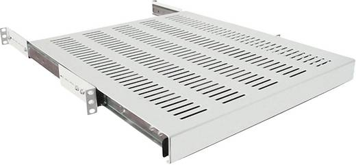 19 Zoll Netzwerkschrank-Geräteboden 1 HE LogiLink SF1S65G Ausziehbar Geeignet für Schranktiefe: 800 mm Grau