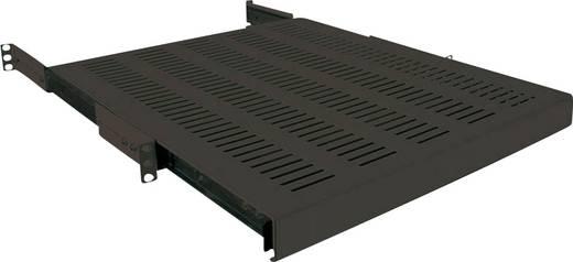 19 Zoll Netzwerkschrank-Geräteboden 1 HE LogiLink SF1S65B Ausziehbar Geeignet für Schranktiefe: 800 mm Schwarz