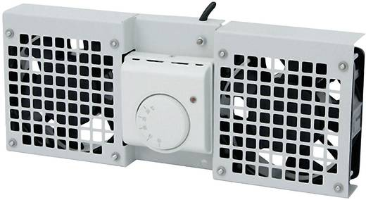 19 Zoll 2 x Netzwerkschrank-Lüfter LogiLink FAW102G Grau