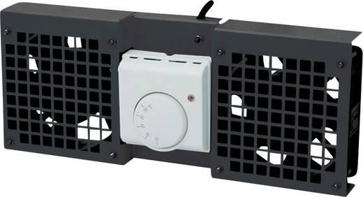 19 Zoll 1 x Netzwerkschrank-Lüfter LogiLink FAW101B Schwarz