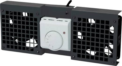 19 Zoll 2 x Netzwerkschrank-Lüfter LogiLink FAW102B Schwarz