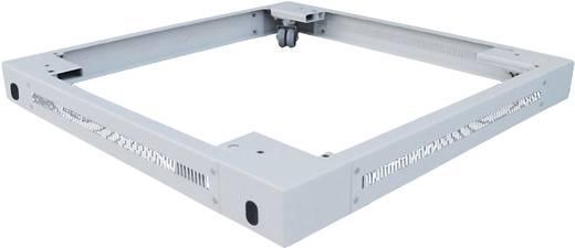 19 Zoll Netzwerkschrank-Sockel (B x H x T) 600 x 90 x 600 mm LogiLink PLI66G Grau