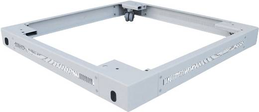 19 Zoll Netzwerkschrank-Sockel (B x H x T) 600 x 90 x 800 mm LogiLink PLI68G Grau