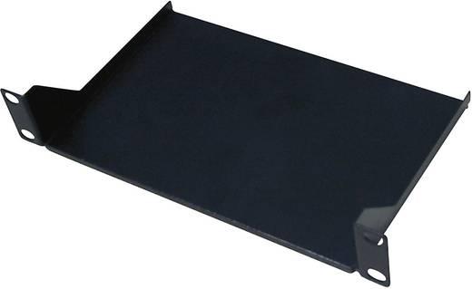 10 Zoll Netzwerkschrank-Geräteboden LogiLink ACT102 Festeinbau Geeignet für Schranktiefe: 300 mm Schwarz