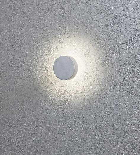 LED-Außenwandleuchte 5.7 W Warm-Weiß Konstsmide Presaro 7909-310 Grau