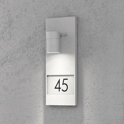Hausnummernleuchte Halogen GU10 35 W Konstsmide Modena 7655-300 Grau
