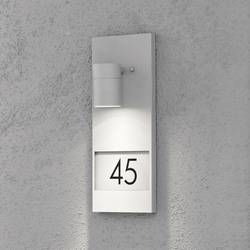 Osvetlenie čísla domu halogénová žiarovka GU10 35 W Konstsmide Modena 7655-300 sivá