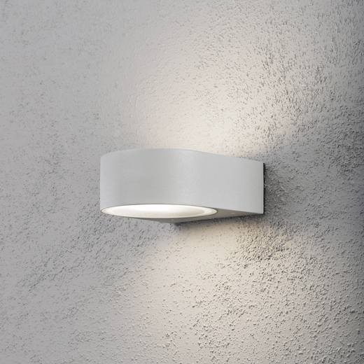 Außenwandleuchte Energiesparlampe, LED E27 40 W Konstsmide Teramo 7510-300 Grau