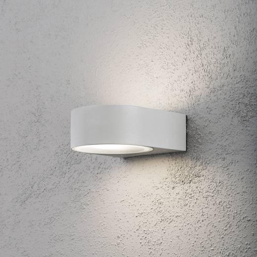 Konstsmide Teramo 7510-300 Außenwandleuchte Energiesparlampe, LED E27 40 W Grau