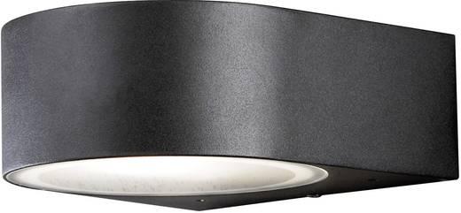 Außenwandleuchte Energiesparlampe, LED E27 40 W Konstsmide Teramo 7510-750 Schwarz