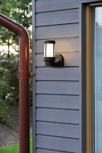 Konstsmide Siena 7513-752 Außenwandleuchte Energiesparlampe, LED E27 60 W Schwarz