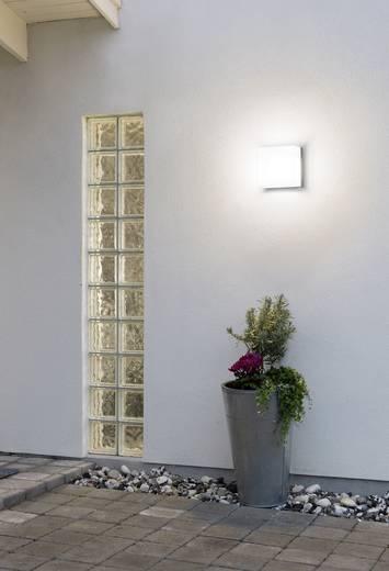 Außenwandleuchte Energiesparlampe, LED E27 15 W Konstsmide Sanremo 7927-312 Grau