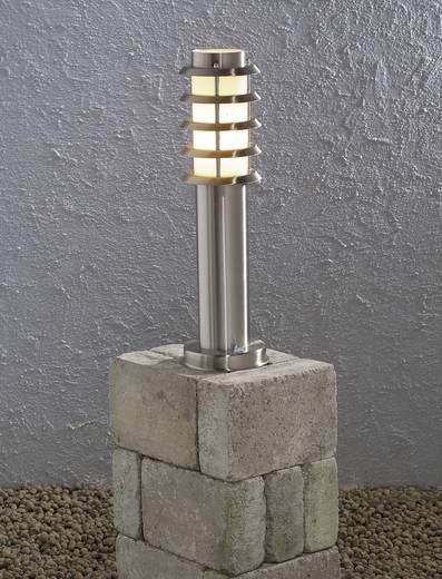 Außenstandleuchte Energiesparlampe E27 11 W Konstsmide Trento 7561-000 Edelstahl