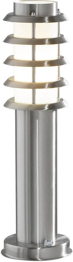 Image of Außenstandleuchte Energiesparlampe E27 11 W Konstsmide Trento 7561-000 Edelstahl