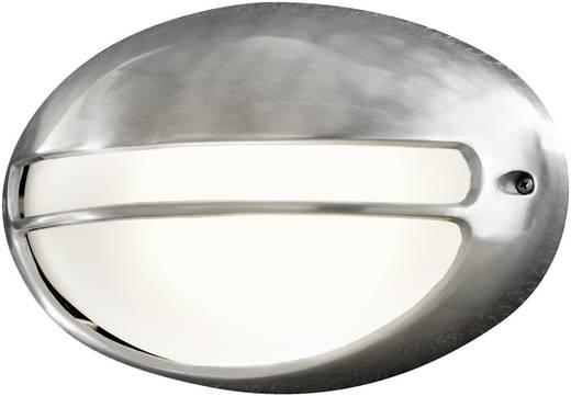 Konstsmide Torino 7334-000 Außenwandleuchte Energiesparlampe, LED E27 60 W Aluminium (gebürstet)