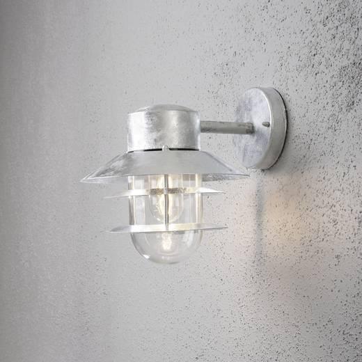 Außenwandleuchte Energiesparlampe, LED E27 60 W Konstsmide Modena 7310-320 Verzinkt
