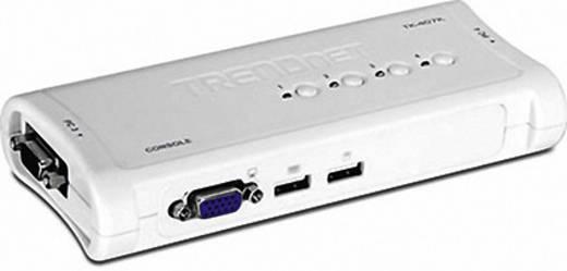4 Port KVM-Umschalter VGA USB 2048 x 1536 Pixel TK-407K TrendNet