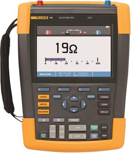 Fluke 190-102 Hand-Oszilloskop (Scope-Meter) 100 MHz 2-Kanal 1.25 GSa/s 10 kpts 8 Bit Kalibriert nach ISO Digital-Speich