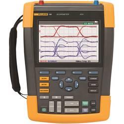 Ručný osciloskop Fluke ScopeMeter 190-102, 100 MHz, 2-kanálová, Kalibrované podľa (ISO)