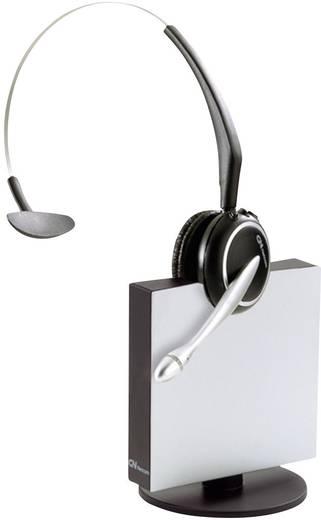 Telefon-Headset DECT schnurlos, Mono Jabra GN9120 Midi OD On Ear Schwarz, Silber