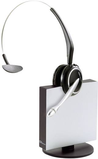 Telefon-Headset DECT schnurlos, Mono Jabra GN9120 Midiboom On Ear Schwarz, Silber