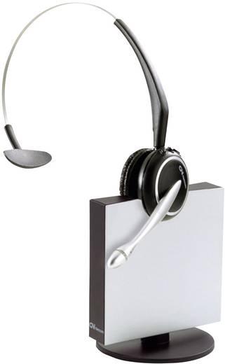Telefon-Headset DECT schnurlos, Mono Jabra GN9120 DECT GAP Midiboom On Ear Schwarz, Silber
