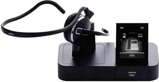 Telefon-Headset DECT schnurlos, Mono Jabra PRO™ 9460 On Ear Schwarz
