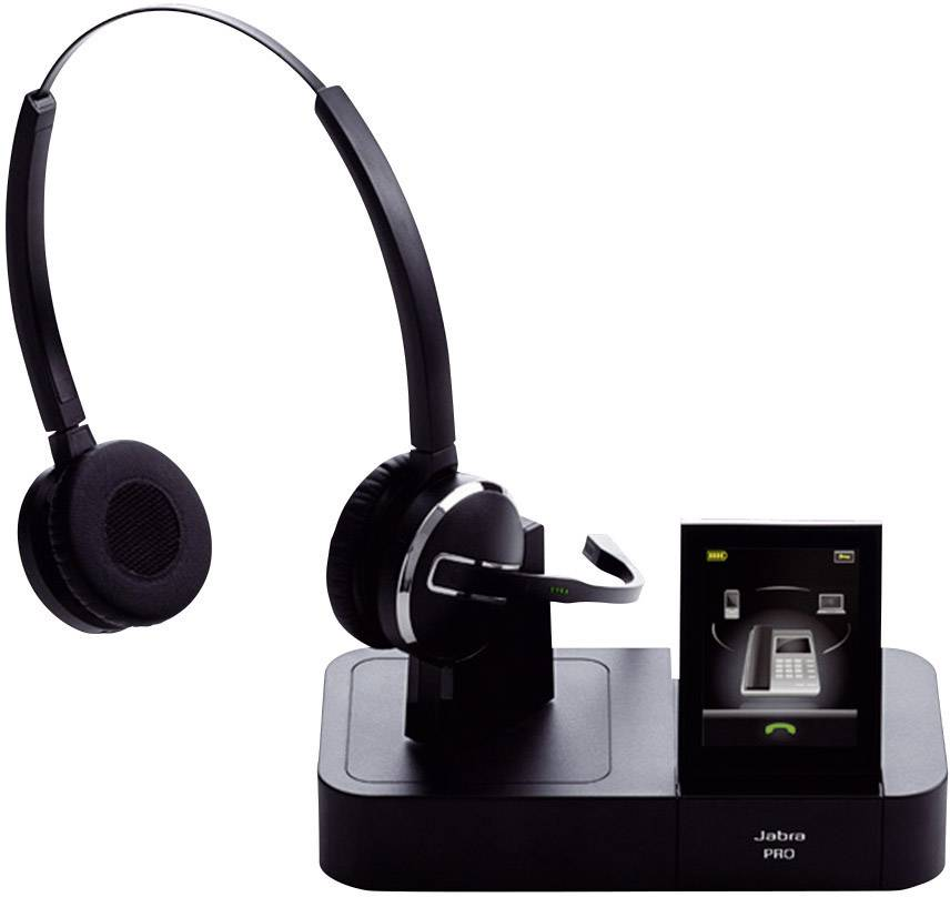 Jabra Pro 9460 Duo Wireless Headset With Touchscreen For: Jabra PRO™ 9460 DUO Telefon-Headset DECT Schnurlos, Stereo
