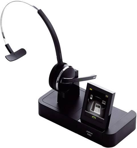 Telefon-Headset DECT schnurlos, Mono Jabra PRO™ 9470 On Ear Schwarz