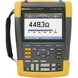 Ručný osciloskop Fluke ScopeMeter 190-062, 60 MHz, 2-kanálová, Kalibrované podľa (ISO)