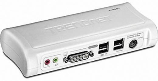 2 Port KVM-Umschalter DVI USB 2048 x 1536 Pixel TK-204UK TrendNet