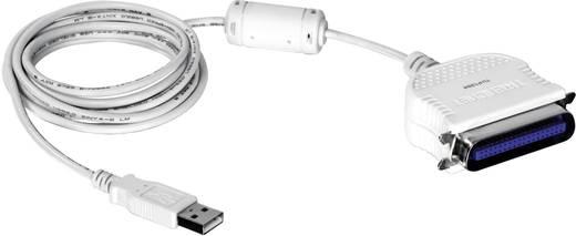 USB 1.1 Anschlusskabel [1x USB 1.1 Stecker A - 1x Centronics-Stecker] 2 m Weiß TrendNet