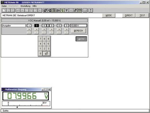 Gossen Metrawatt METRAWIN 90-2 Mess-Software Passend für Marke (Messgeräte-Zubehör) Gossen Metrawatt GMC-I METRACAL