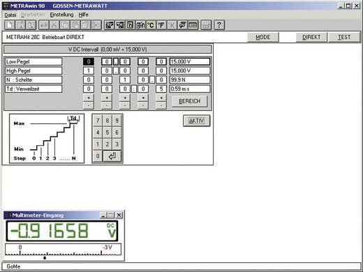 Gossen Metrawatt METRAWIN 90-2 Software zur Dokumentation,Verwaltung von Kalibrierergebnissen, zum Generieren von Kalibr