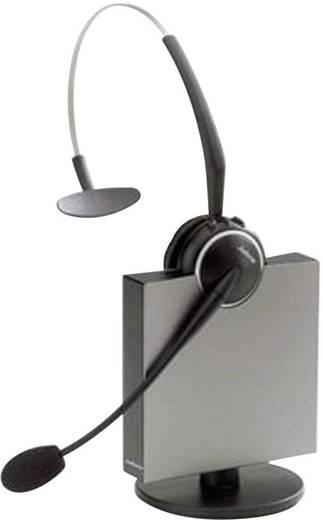 Telefon-Headset DECT schnurlos, Mono Jabra GN9120 Flex NC Mono EHS On Ear Schwarz, Silber