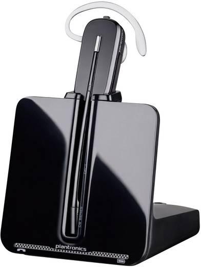 Telefon-Headset DECT schnurlos, Mono Plantronics CS540A In Ear Schwarz