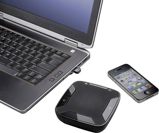 Konferenzlautsprecher USB, Bluetooth® Plantronics Calisto 620 Schwarz