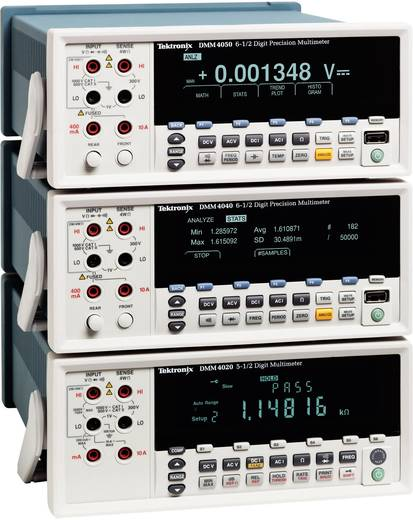 Tisch-Multimeter digital Tektronix DMM4020 Kalibriert nach: ISO CAT II 600 V Anzeige (Counts): 20000