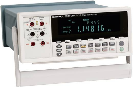 Tisch-Multimeter digital Tektronix DMM4020 Kalibriert nach: ISO CAT II 600 V Anzeige (Counts): 20000