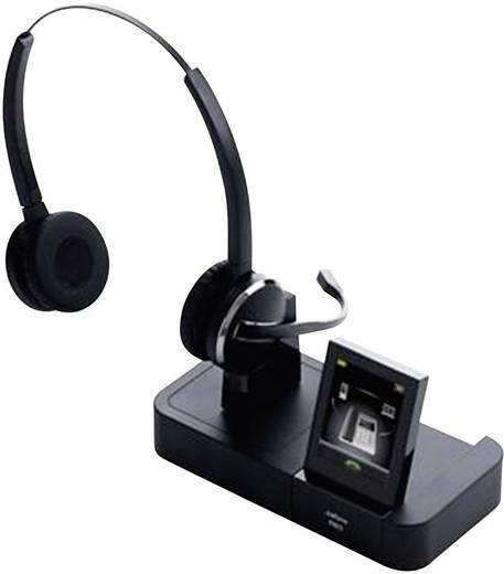 Telefon-Headset DECT schnurlos, Stereo Jabra PRO™ 9465 DUO On Ear Schwarz