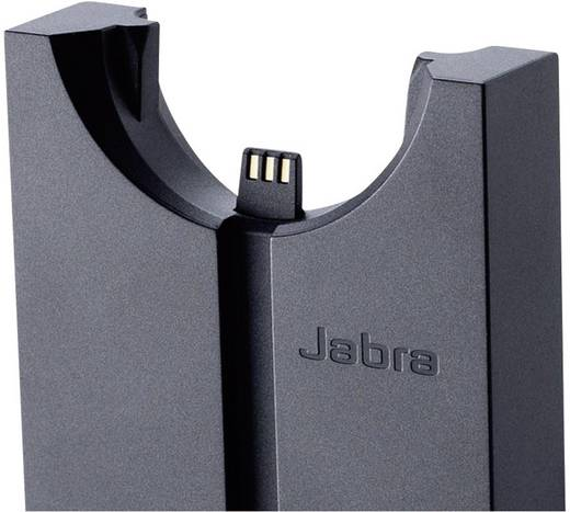 Telefon-Headset DECT schnurlos, Mono Jabra PRO920 On Ear Schwarz, Silber