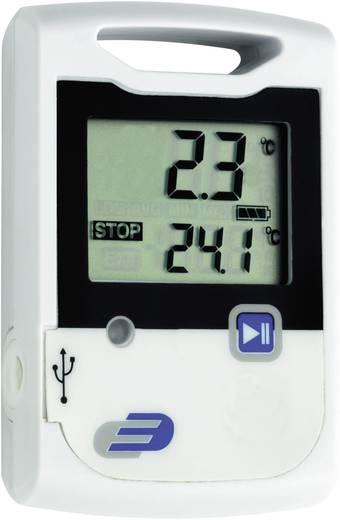 Temperatur-Datenlogger TFA LOG10 Messgröße Temperatur -30 bis 60 °C Kalibriert nach Werksstandard